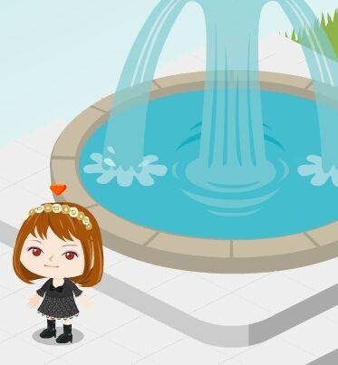 ピグ 噴水